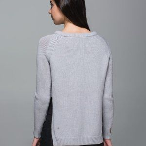 Lululemon Yin To You Sweater 100% Wool Size 10